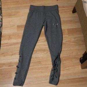 Puma grey leggings, high waist